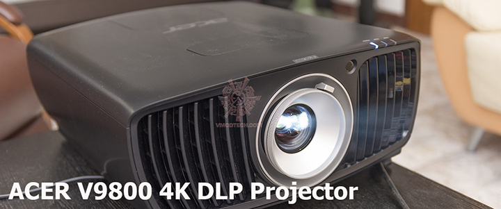 ACER V9800 DLP Ultra HD Projector Review
