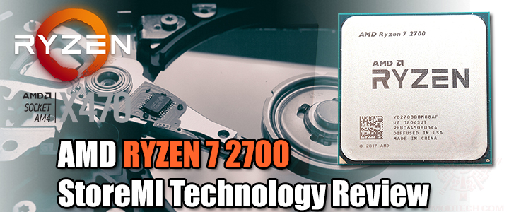 default thumb AMD RYZEN 7 2700 and StoreMI Technology Review