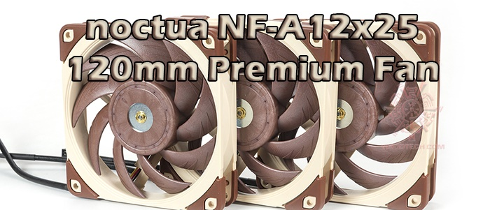default thumb noctua NF-A12x25 PWM ULN FLX 120mm Premium Fan Review