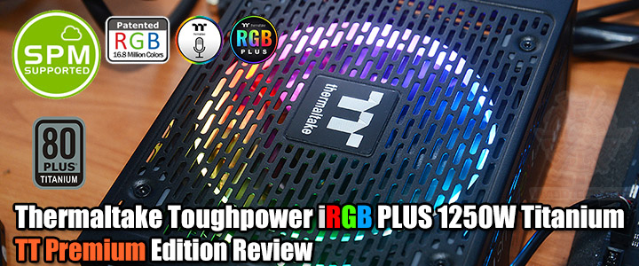 default thumb Thermaltake Toughpower iRGB PLUS 1250W Titanium - TT Premium Edition Review
