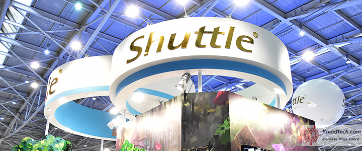 Shuttle Booth@Computex Taipei 2018