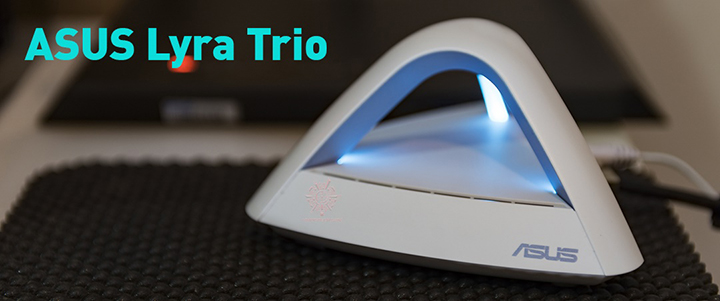 ASUS LYRA TRIO AC1750 Dual Band Mesh WiFi System Review