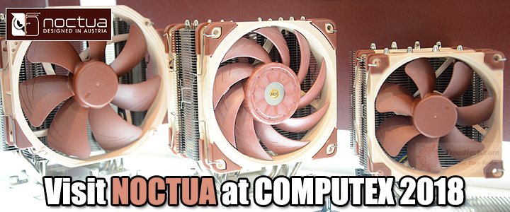 default thumb Visit NOCTUA at COMPUTEX 2018