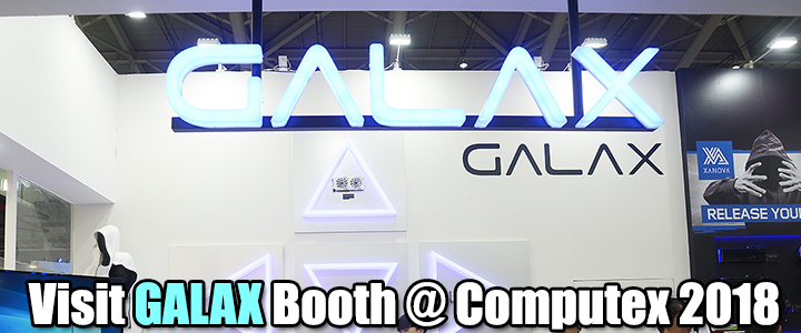 default thumb Visit GALAX Booth @ Computex 2018