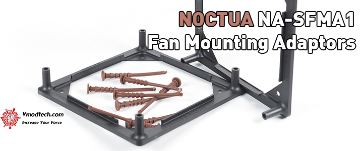 default thumb NOCTUA NA-SFMA1 Fan Mounting Adaptors Preview