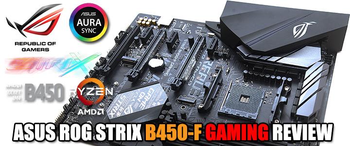 default thumb ASUS ROG STRIX B450-F GAMING REVIEW