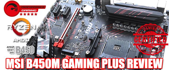 default thumb MSI B450M GAMING PLUS REVIEW