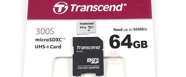 default thumb Transcend TS64GUSD300S-A microSD Cards 300S 64GB Review