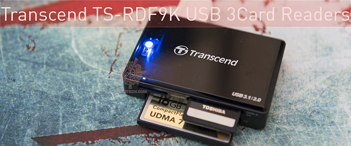 Transcend TS-RDF9K USB 3.13.0 Card Readers Review