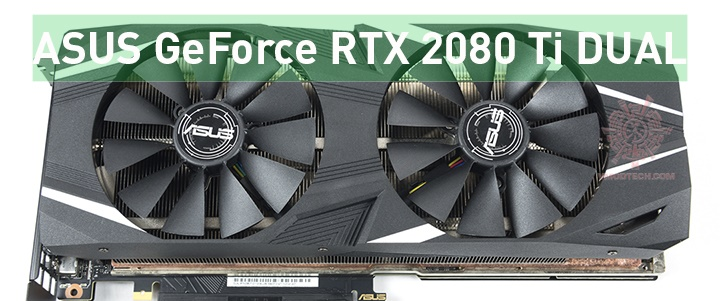 default thumb ASUS GeForce RTX 2080 Ti DUAL Review