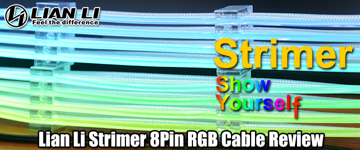 default thumb Lian Li Strimer 8Pin RGB Cable Review
