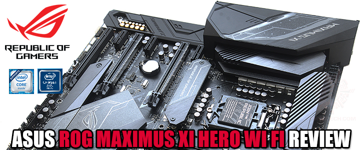 ASUS ROG MAXIMUS XI HERO (WI-FI) REVIEW