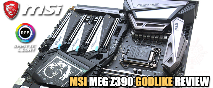 MSI MEG Z390 GODLIKE REVIEW