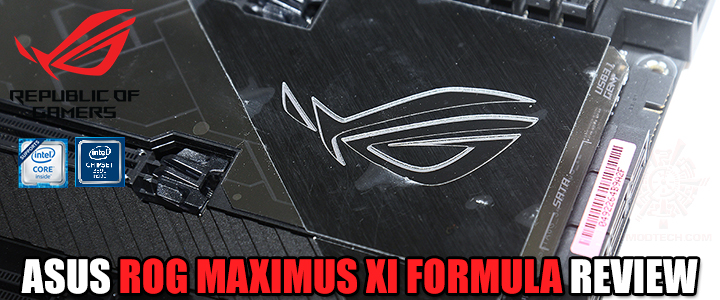 ASUS ROG MAXIMUS XI FORMULA REVIEW