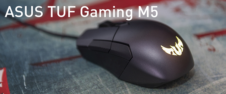 default thumb ASUS TUF Gaming M5 Gaming Mouse Review