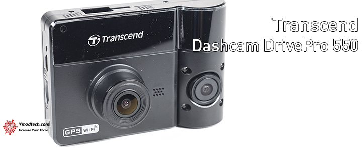 Transcend Dashcams DrivePro 550 Review