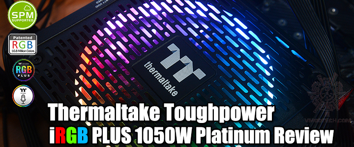 default thumb Thermaltake Toughpower iRGB PLUS 1050W Platinum Review