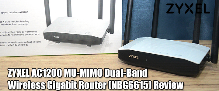 default thumb ZYXEL AC1200 MU-MIMO Dual-Band Wireless Gigabit Router (NBG6615) Review
