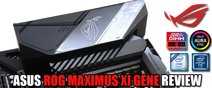 ASUS ROG MAXIMUS XI GENE REVIEW
