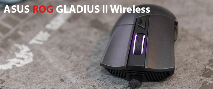 ASUS ROG GLADIUS II Wireless Review