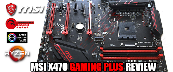 default thumb MSI X470 GAMING PLUS REVIEW