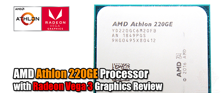 AMD Athlon 220GE Processor with Radeon Vega 3 Graphics Review