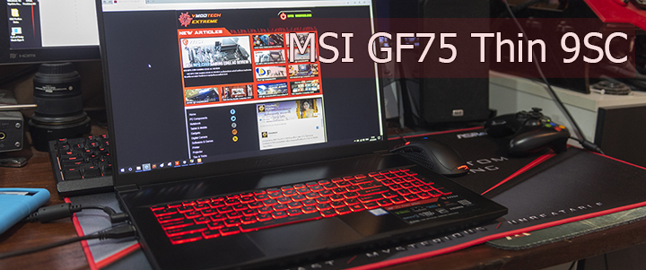 default thumb MSI GF75 Thin 9SC Review