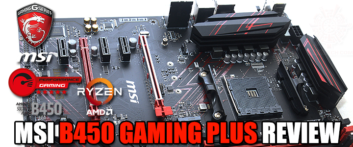 MSI B450 GAMING PLUS REVIEW