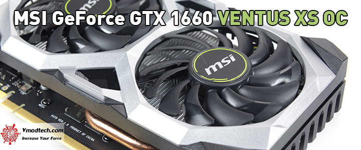 MSI GeForce GTX 1660 VENTUS XS OC Edition