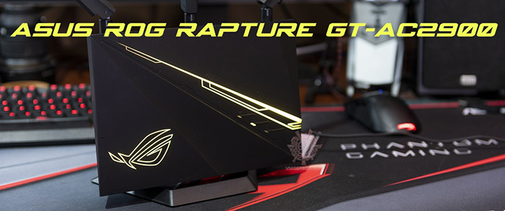 default thumb ASUS ROG RAPTURE GT-AC2900 WiFi Gaming Router Review