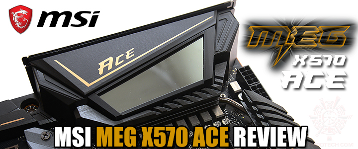 MSI MEG X570 ACE REVIEW
