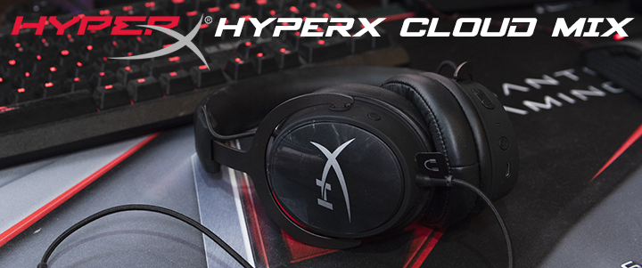 HyperX Cloud MIX Wireless Gaming Headset Review