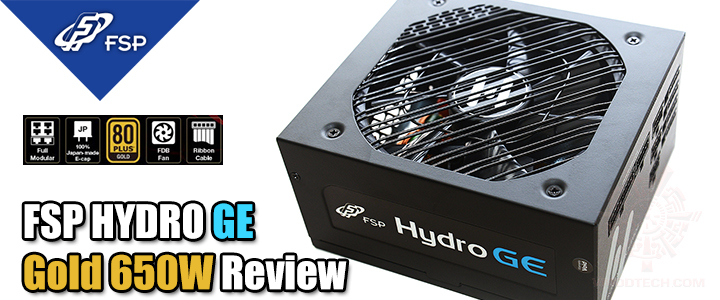 FSP HYDRO GE - Gold 650W Review