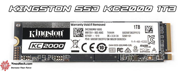 KINGSTON SSD KC2000 1TB Review