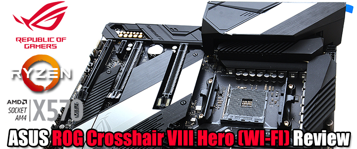 ASUS ROG Crosshair VIII Hero (WI-FI) Review