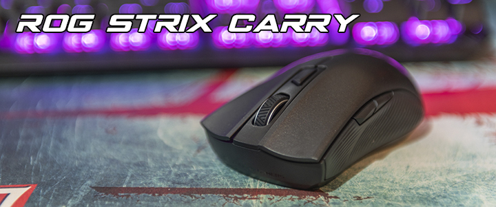 default thumb ASUS ROG Carry Optical gaming mouse with dual 2.4GHz Bluetooth Review