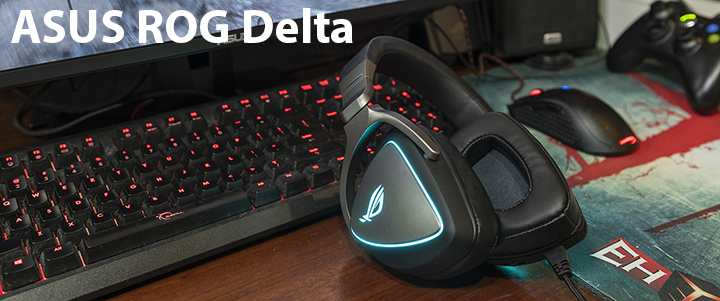 default thumb ASUS ROG DELTA RGB Quad-DAC Gaming Headset