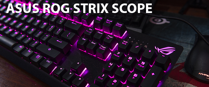 default thumb ASUS ROG STRIX SCOPE Mechanical Gaming Keyboard Review