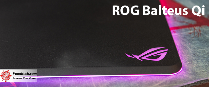 ROG Balteus Qi Wireless Charging RGB Gaming Mouse Pad