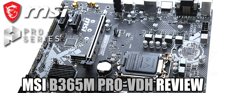 default thumb MSI B365M PRO-VDH REVIEW