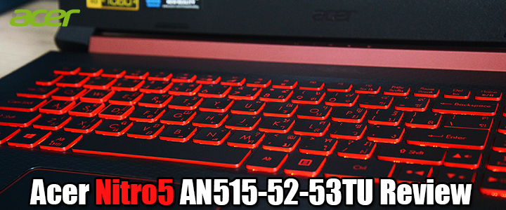 default thumb Acer Nitro5 AN515-52-53TU Review
