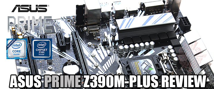 ASUS PRIME Z390M-PLUS REVIEW