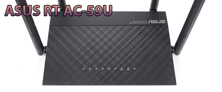 ASUS RT AC-59U - AC1500 Dual Band WiFi Router Review