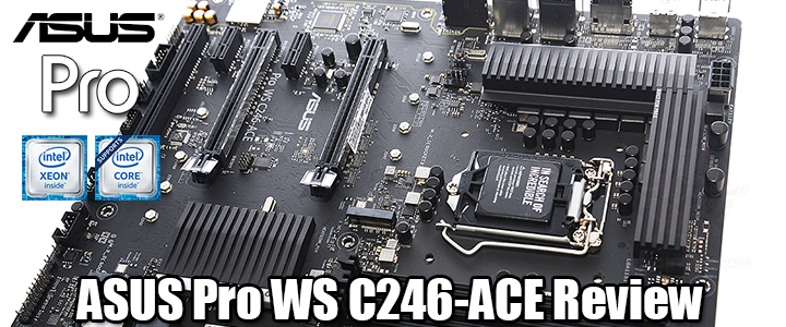 default thumb ASUS Pro WS C246-ACE Review