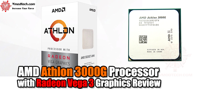 default thumb AMD Athlon 3000G Processor with Radeon Vega 3 Graphics Review