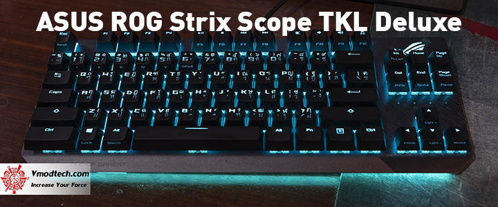 default thumb ASUS ROG Strix Scope TKL Deluxe Mechanical Gaming Keyboard Review