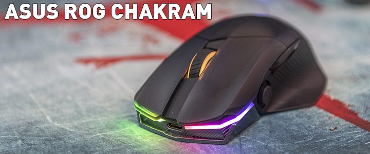 ASUS ROG CHAKRAM RGB Wireless Gaming Mouse Review