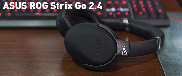 ASUS ROG Strix Go 2.4 USB-C 2.4 GHz Wireless Gaming Headset Review