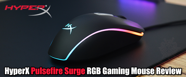 HyperX Pulsefire Surge RGB Gaming Mouse Review