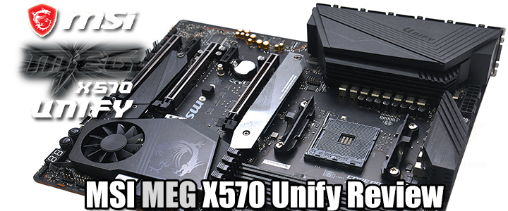 MSI MEG X570 Unify Review